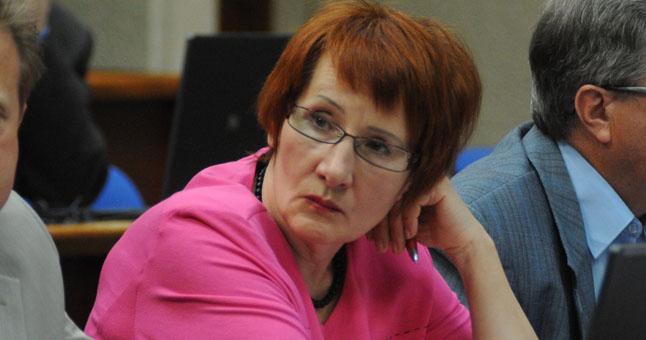 Klaipëdos miesto tarybos narë Tamara Lochankina.