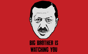 Risultati immagini per erdogan is watching you